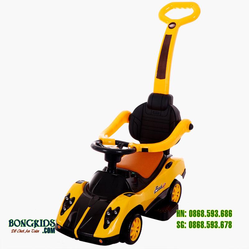 Xe chòi chân cho bé BN-602 màu vàng