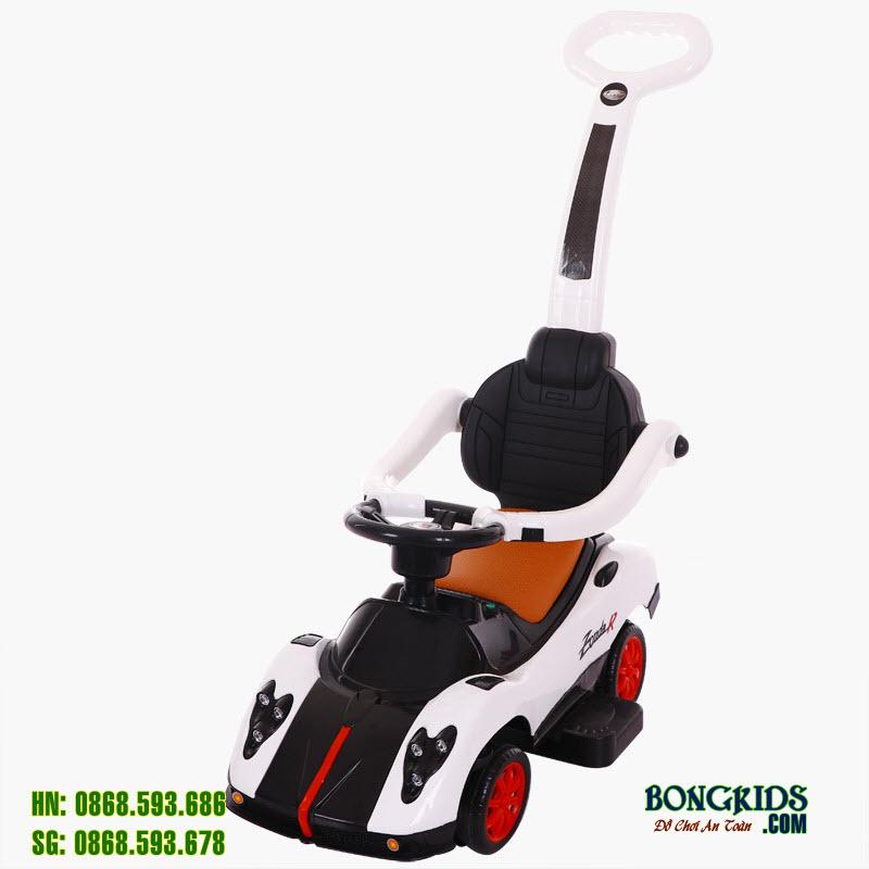 Xe chòi chân cho bé BN-602 màu trắng