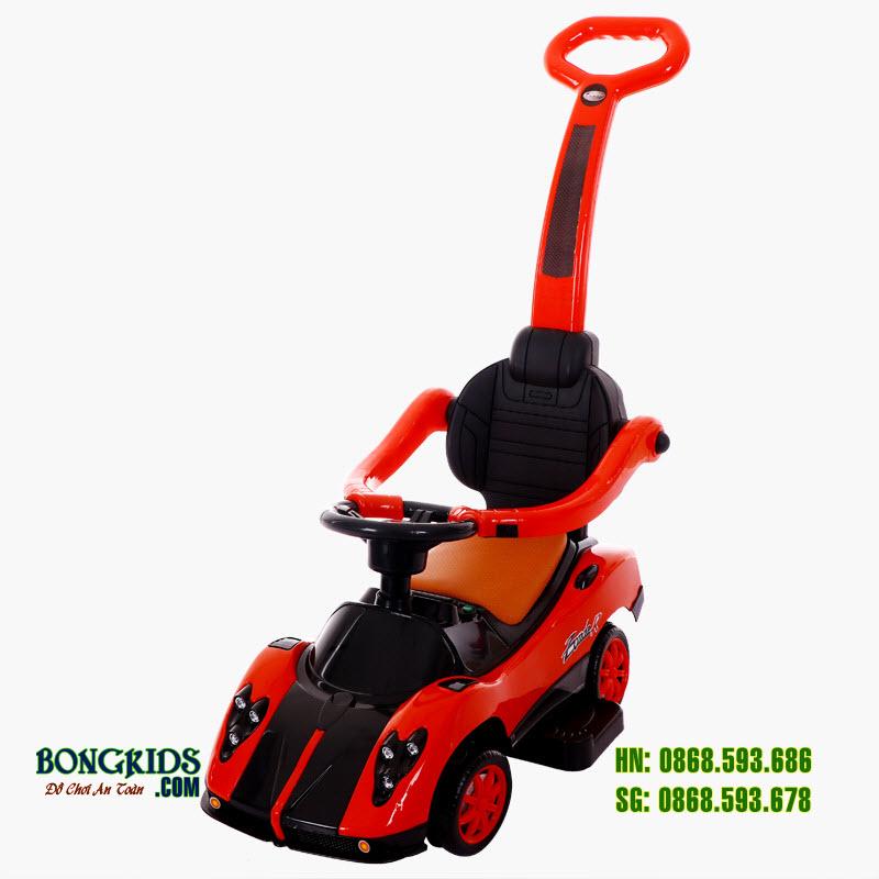 Xe chòi chân cho bé BN-602 màu đỏ