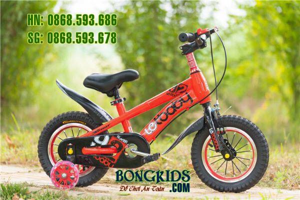 Xe đạp cho bé  LETBABY màu đỏ