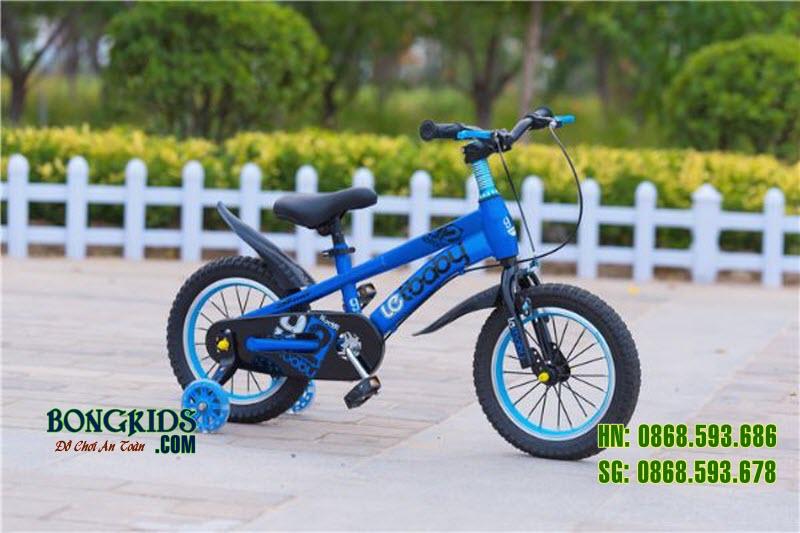 Xe đạp cho bé LETBABY màu xanh