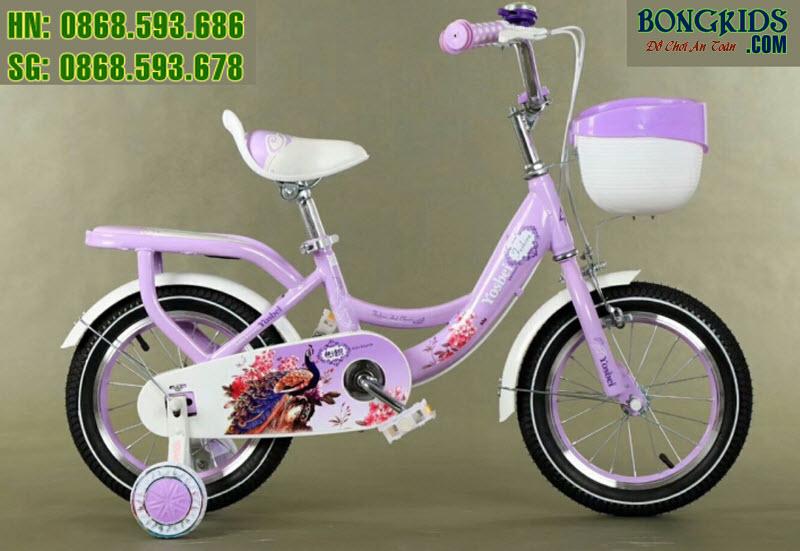 Xe đạ cho bé Youshibei màu tím