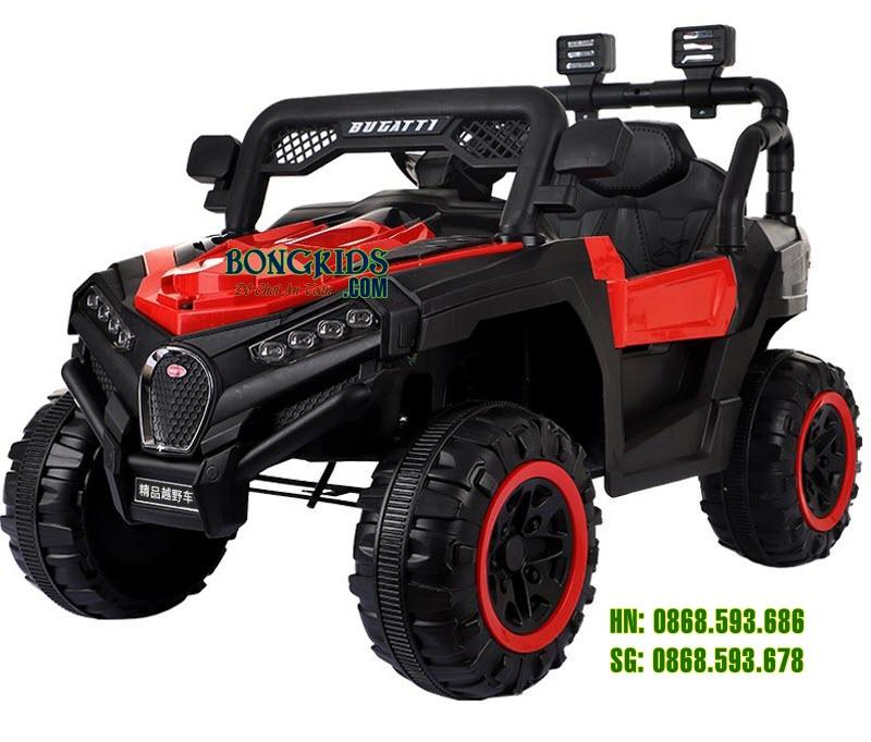 Xe ô tô điện trẻ em Bugatiti Jeep 2