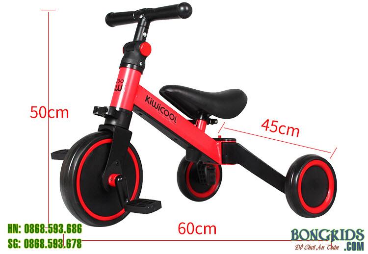 Xe đa năng chòi chân-3 bánh-thăng bằng 006 có thể mang đi mọi nơi mà bé muốn