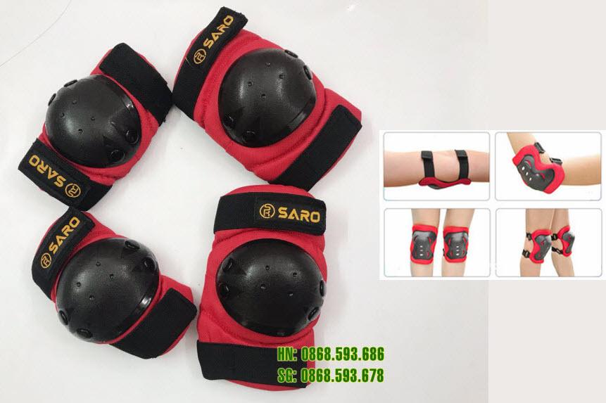 Bộ bảo vệ tay chân Saro
