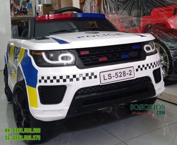 Xe ô tô điện trẻ em cảnh sát JC002
