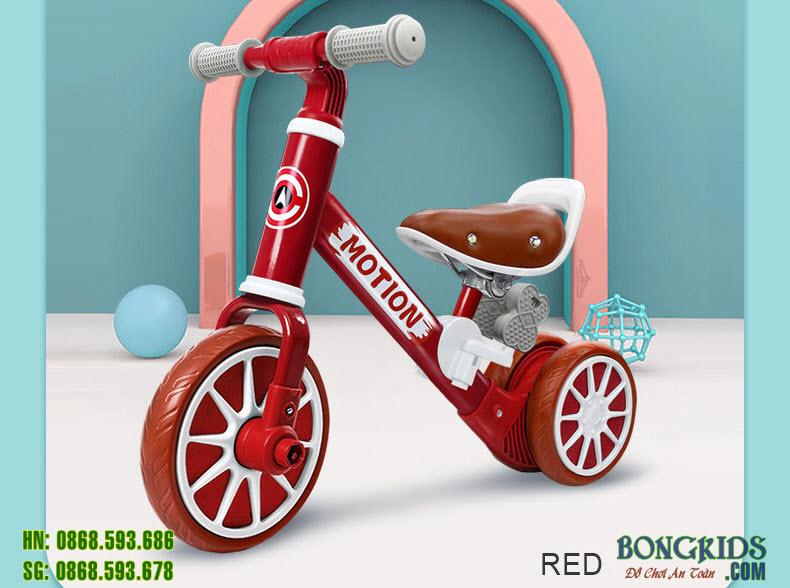 Xe chòi chân cho bé BP202 màu đỏ