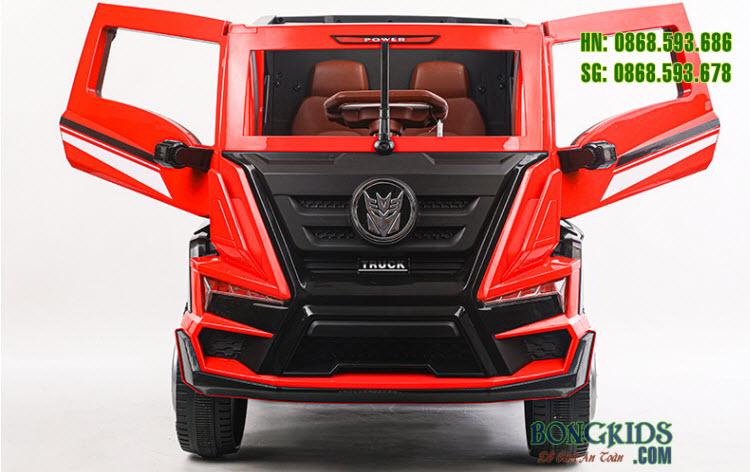 Xe tải điện trẻ em BDQ-2020 màu đỏ