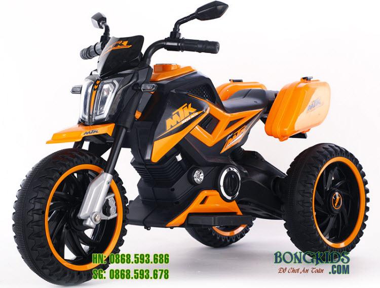 Xe máy điện trẻ em BDQ8101 màu cam