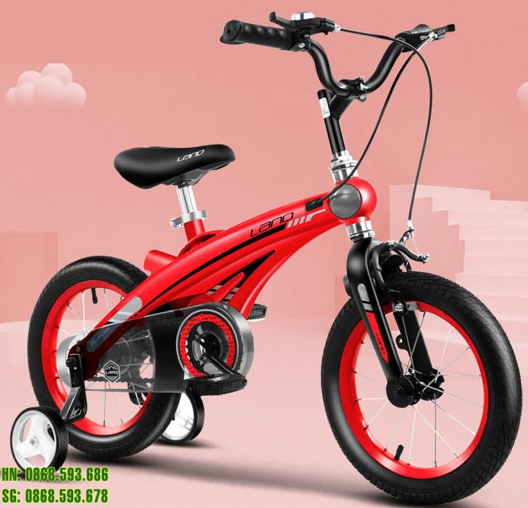 Xe đạp trẻ em LANQ 39 màu đỏ