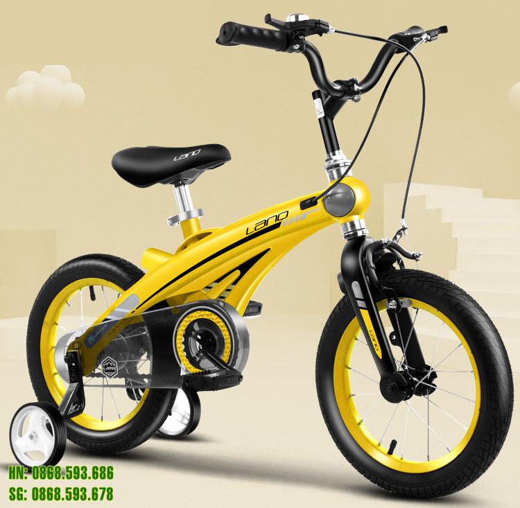 Xe đạp trẻ em LANQ 39 màu vàng