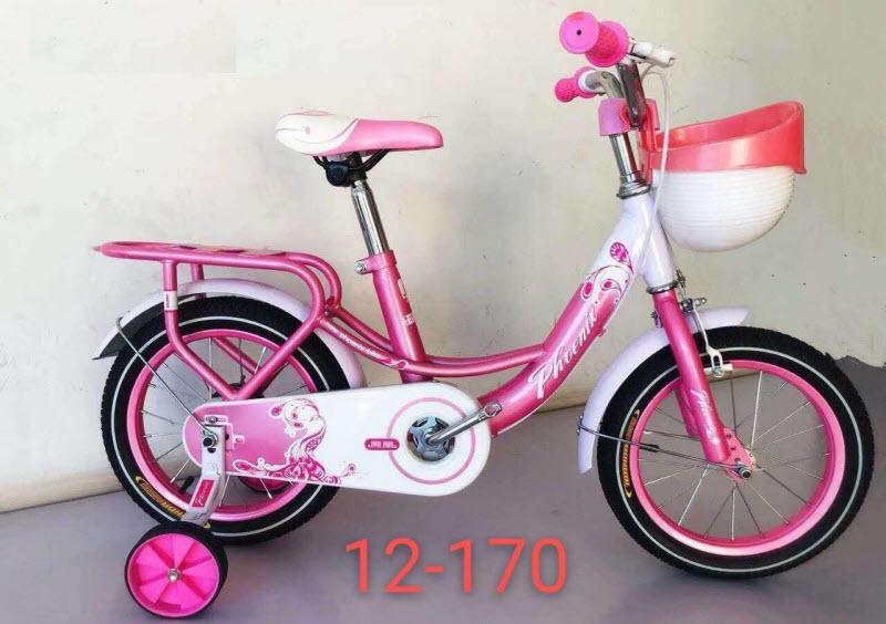 Xe đạp cho bé gái 170 màu hồng