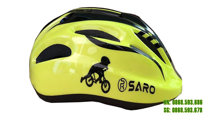 Mũ bảo hiểm Saro màu cốm
