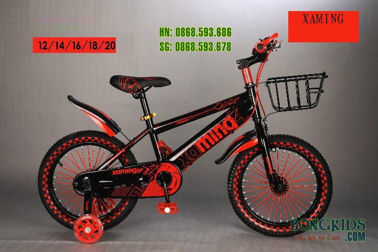 Xe đạp trẻ em Xaming CY-009 màu đỏ