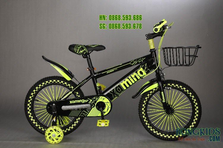 Xe đạp trẻ em Xaming CY-009  màu vàng