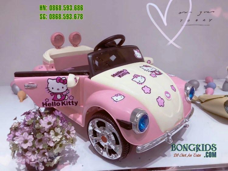 Xe ô tô điện trẻ em BRJ-5169 màu hồng
