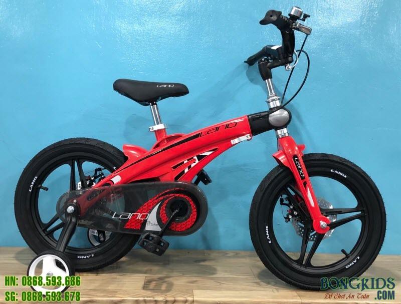 Xe đạp trẻ em Lanq Fd màu đỏ