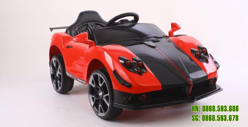 Xe ô tô điện BDQ1588 màu đỏ