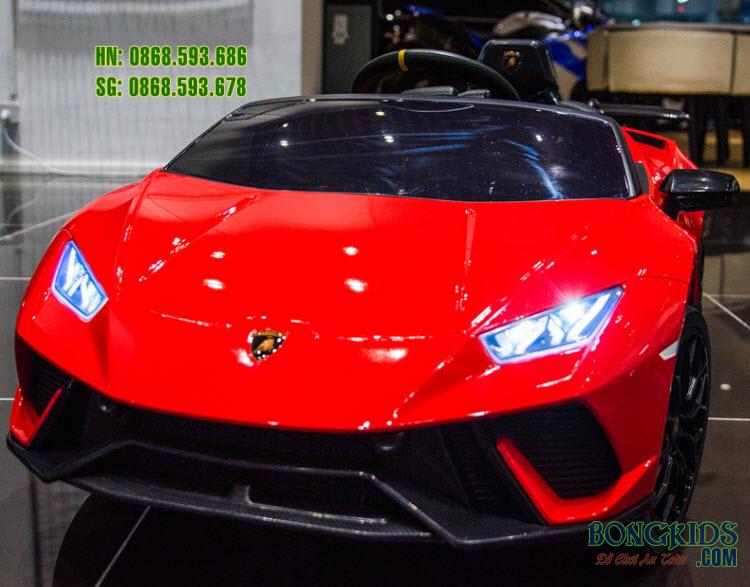 Xe hơi điện trẻ em Lamborghini S308 màu đỏ