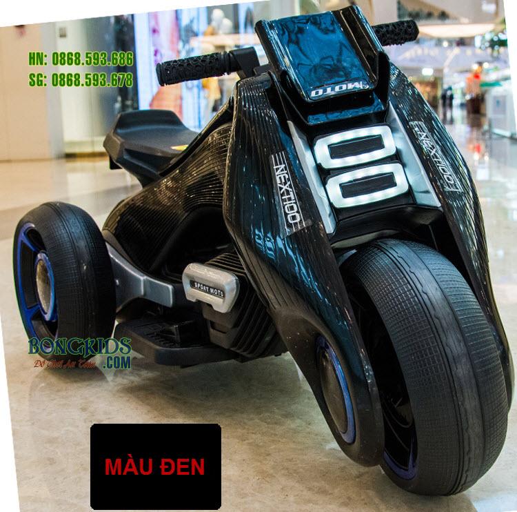 Xe máy điện trẻ em BDQ6199 màu đen