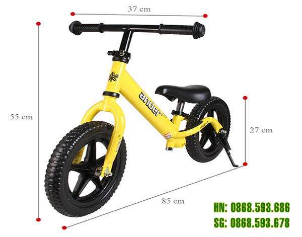 Kích thước xe thăng bằng cho bé Ander Pro
