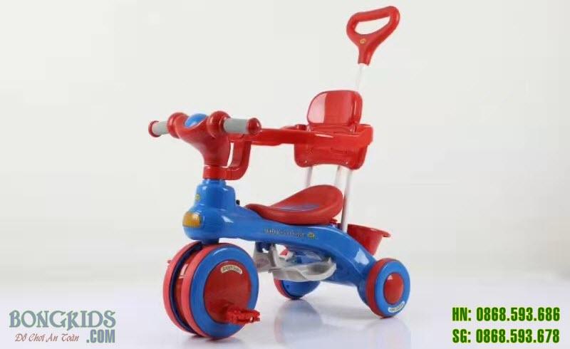 Xe 3 bánh trẻ em 688 màu đỏ