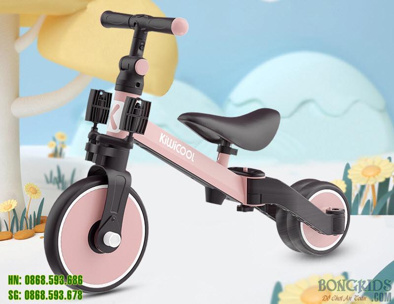 Xe 3 bánh trẻ em 006 hồng đẹp