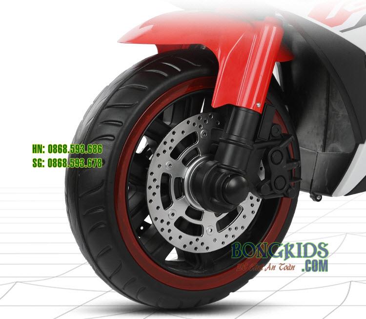 Xe máy điện trẻ em N888-R3 - bánh xe