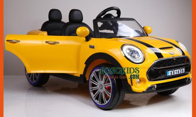Xe ô tô điện trẻ em Mini Cooper SX-1638