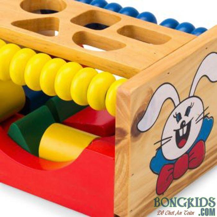Hộp thả hình con thỏ 2