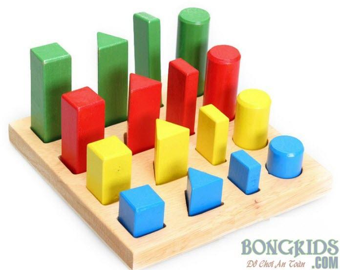 Bảng khối trụ học đếm và so sánh giá rẻ - bongkids.com