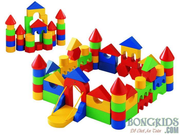 Bộ xếp hình lâu đài - bongkids.com