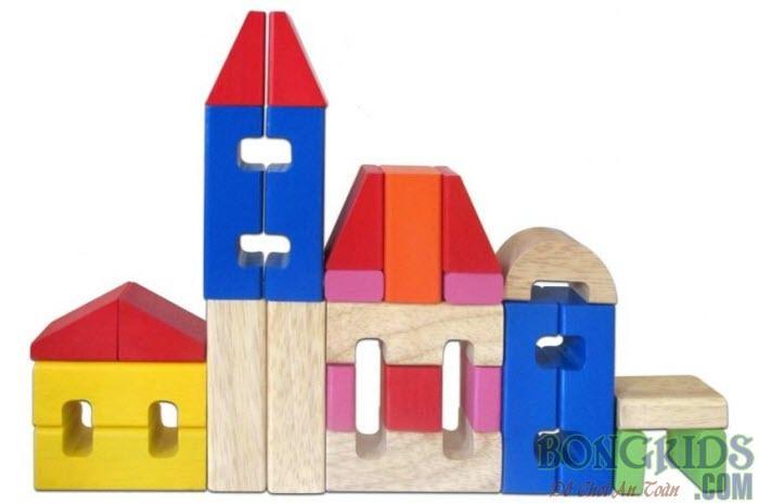 Mua bộ xếp hình lâu đài cho bé - bongkids.com