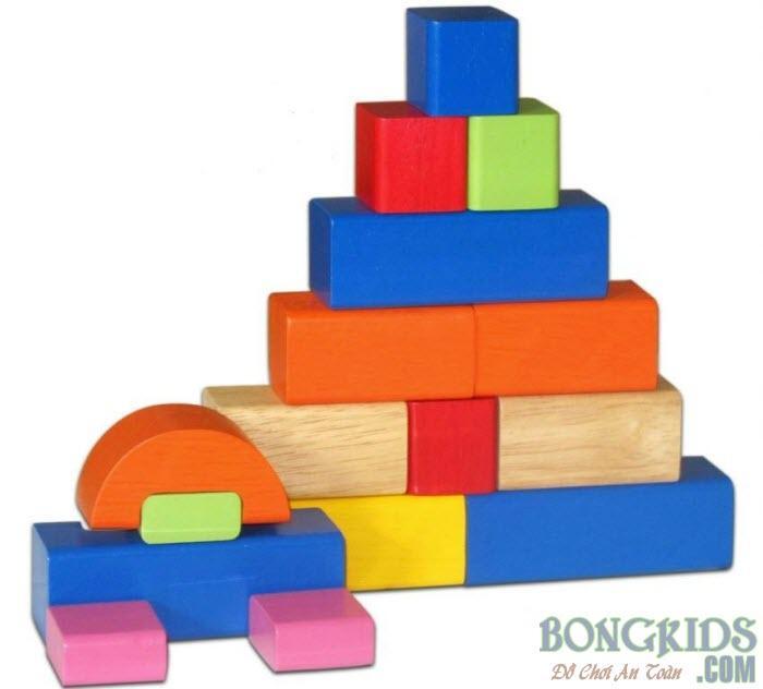 Bộ xếp hình lâu đài giá rẻ - bongkids.com