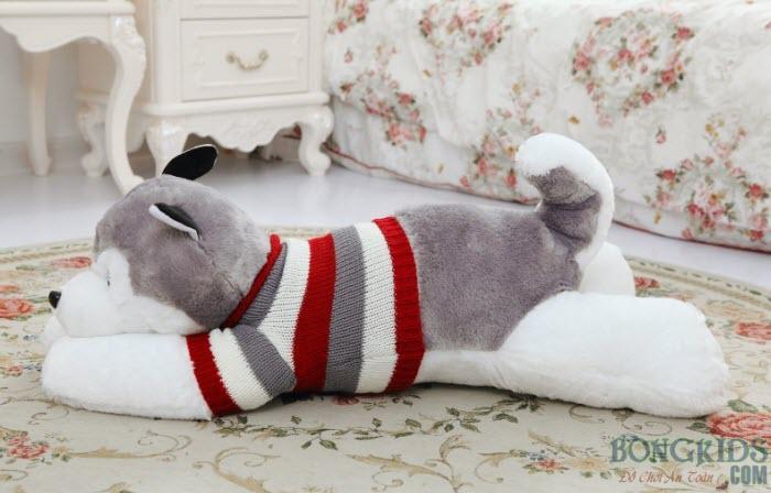 Thú bông chó husky đẹp
