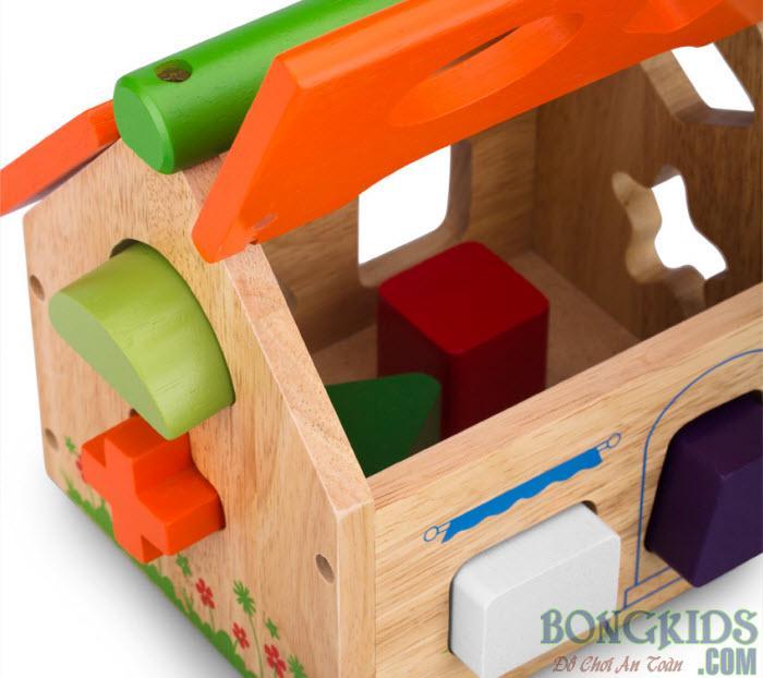 Nhà thả khối thông minh - bongkids.com