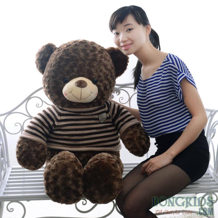Gấu Teddy lông xoắn