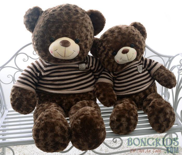 Gấu bông teddy socola đẹp