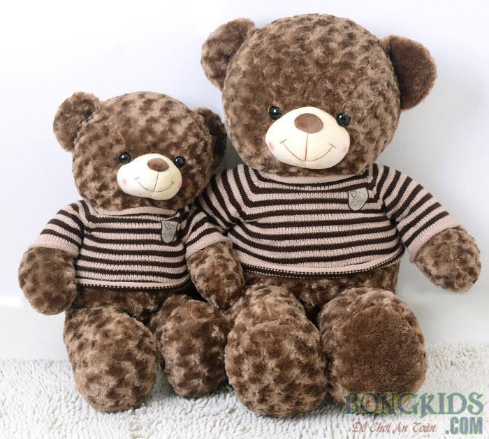 Gấu bông teddy socola dễ thương