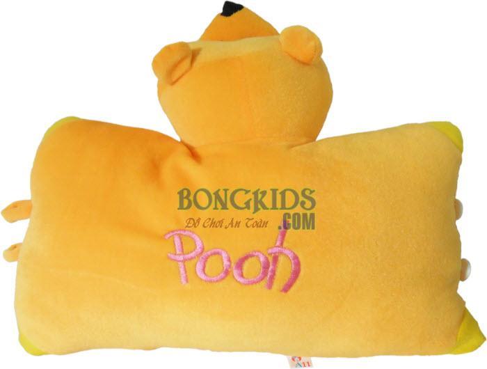Gối cúc bông mặt Pooh giá rẻ - bongkids.com