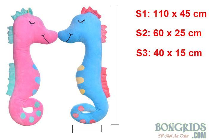 Kích thước gối ôm cá ngựa