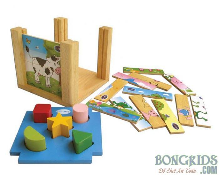 Đồ chơi thông minh hộp xếp hình thả khối - www.bongkids.com