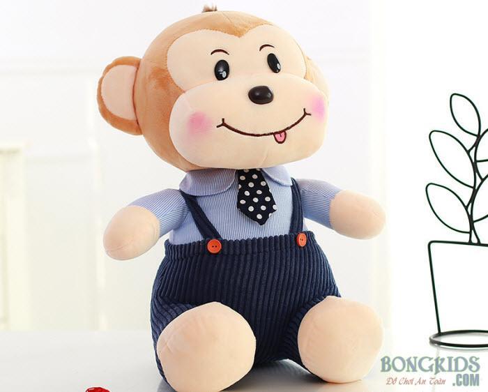 Thú bông khỉ mặc quần áo
