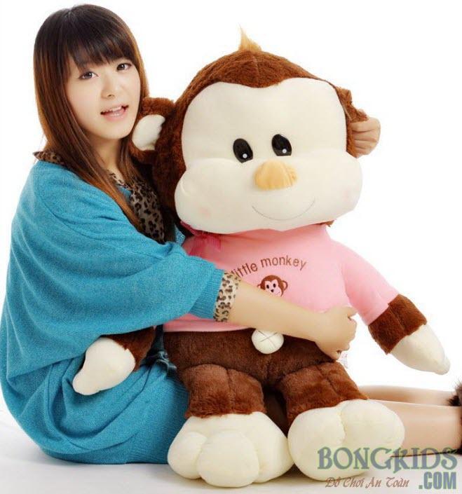 Khỉ rốn bông đẹp -bongkids.com