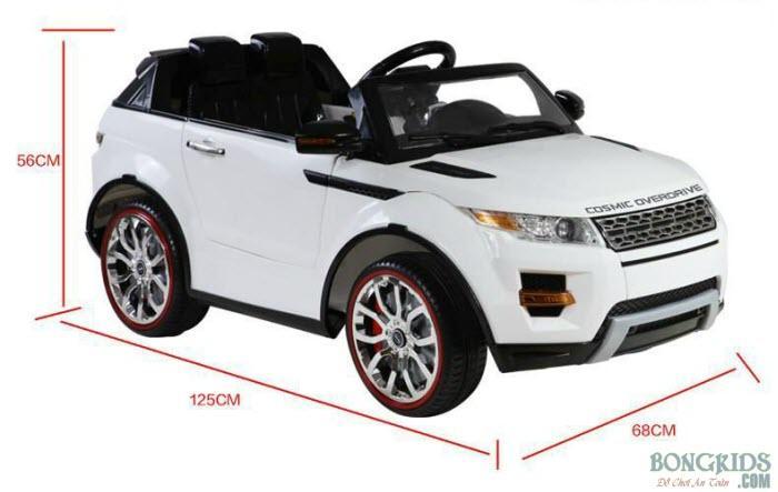Kích thước xe ô tô điện trẻ em SX-118
