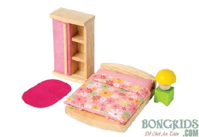 Nhà búp bê bằng gỗ - bongkids.com