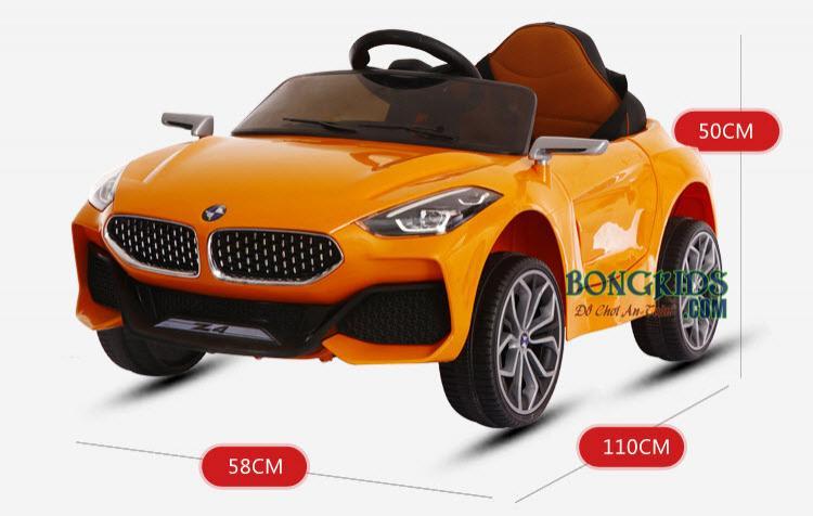 Kích thước xe ô tô điện trẻ em Z4