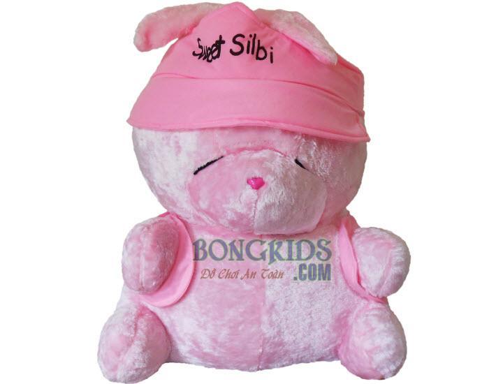 Thỏ bông mặc áo - bongkids.com