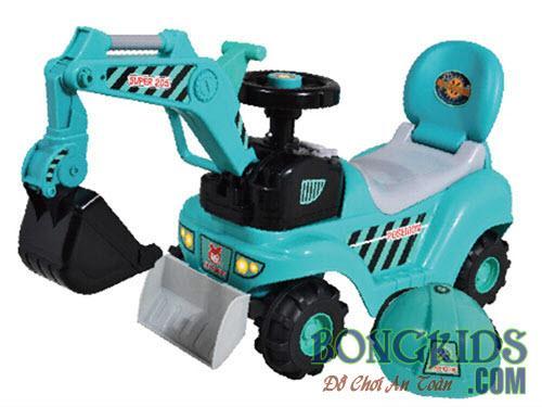 Xe cần cẩu trẻ em chòi chân WJ-007 -11