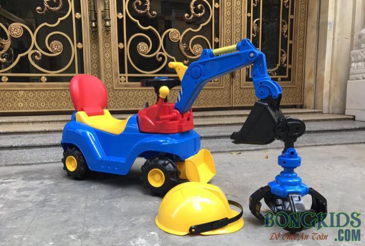 Xe cần cẩu trẻ em chòi chân WJ-007